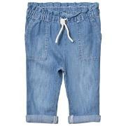 GAP Light Wash Drawstring Denim Jeans 18-24 Months
