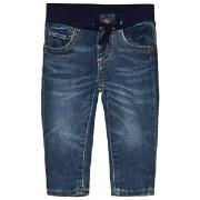 GAP Pull-On Slim Fit Jeans Dark Wash 0-3 Months
