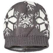 Ticket to heaven Short Knit Hat Castlerock Grey 49 cm