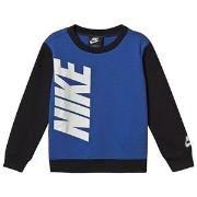 NIKE Logo Sweatshirt Game Royal 2-3 years